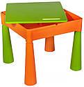Стіл і 2 стільчика Tega Mamut 899G orange-green, фото 4