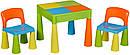 Стол и 2 стульчика Tega Mamut 899UN multicolor, фото 2