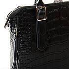 Сумка кожаная женская Alex Rai black, фото 3