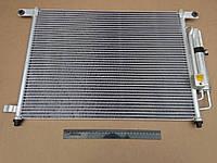 Радиатор кондиционера Aveo, Лузар (LRAC 0589) с ресивером