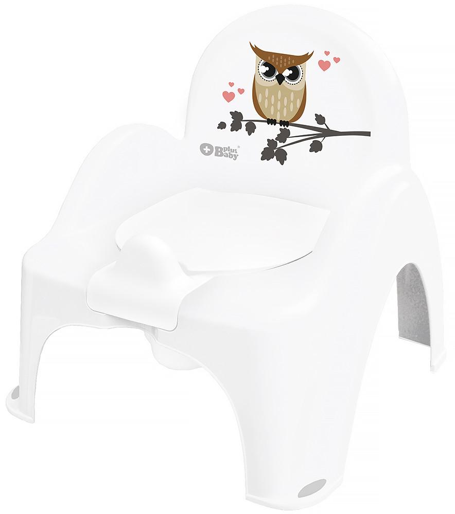 Горщик-стільчик Tega Owl (plus baby) PB-SOWA-007 103 white