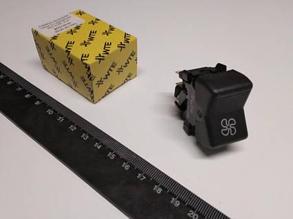 Вмикач-клавіша пічки ВАЗ 2105 (3 конт.), WTE (WTE105-05)