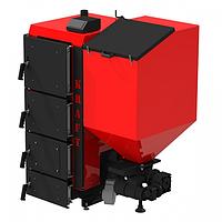 Пеллетный котел Kraft R 40 кВт с польской горелкой ретортного типа и автоматической подачей топлива