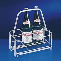 Подставка-корзина для бутылок 6 шт., 24х31х33 см. металлическая METALTEX (381626)