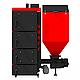 Пелетний котел Kraft R 75 кВт з польської пальником ретортного типу і автоматичною подачею палива, фото 3