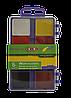 Краски акварельные 8 цветов пластиковая коробка Zibi ZB.6519