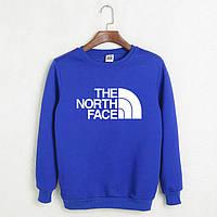 "Свитшот синий The North Face """" В стиле The North Face """""