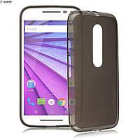 Чехол накладка для Motorola Moto G3 серый, фото 1
