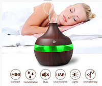 Освежитель воздуха mini usb humidifier 7 led color change