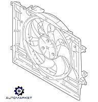 Диффузор (вентилятор) радиатора охлаждения Hyundai Genesis G70 2017-