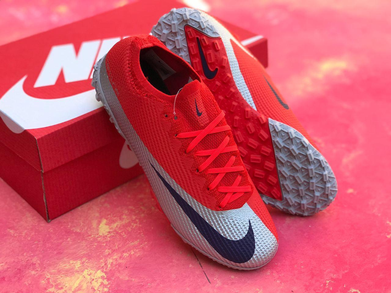 Сорокножки Nike Mercurial Vapor 13 Elite MDS FG/ сороконожки найк/ футбольная обувь