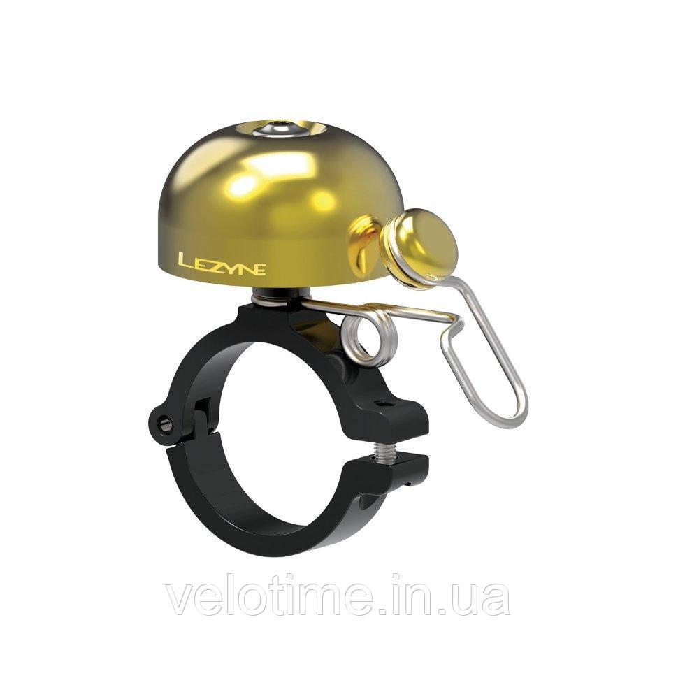 Звонок Lezyne CLASSIC BRASS BELL- HM (медный-черный)