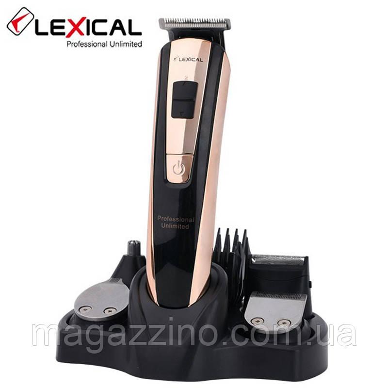 Машинка для стрижки волосся 5в1 Lexical LHC-5601, 3 Вт.