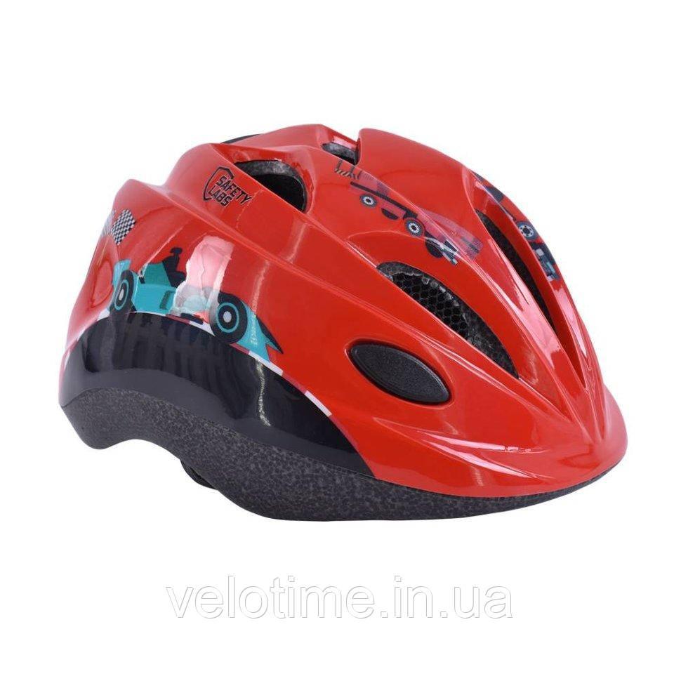 Шлем Safety Labs Reno (Race/красный S/48-54см)