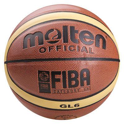 М'яч баскетбольний Molten №6 PU, GL-6, фото 2