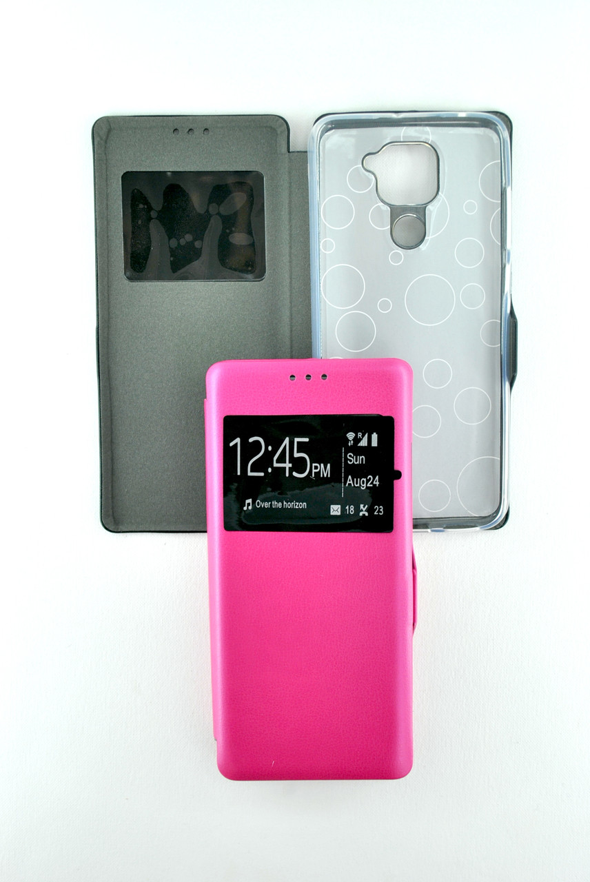 Чехол-книжка Flip Cover for Samsung M01 (2020) Afina Pink (4you)