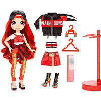 Кукла Радуга Рейнбоу Хай Руби Андерсон Rainbow Surprise Rainbow High Ruby Anderson Красная