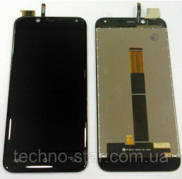 Оригинальный дисплей (модуль) + тачскрин (сенсор) для Cubot Magic (черный цвет)
