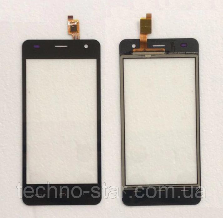 Оригинальный тачскрин / сенсор (сенсорное стекло) для Doogee (HomTom) HT26 | HT26 Pro (черный цвет)