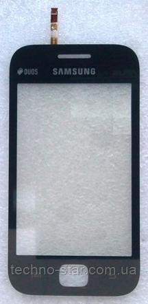 Оригінальний тачскрін / сенсор (сенсорне скло) для Samsung Galaxy Ace Duos S6352 S6802 (чорний, самоклейка)