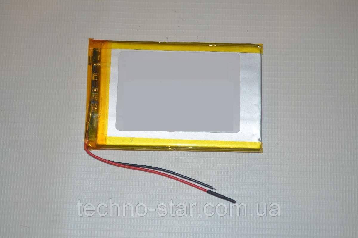 Универсальный аккумулятор (АКБ, батарея) 3.7V 2000mAh (3.5*50*72mm)