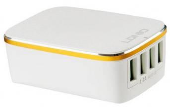 Адаптер сетевой Ldnio A4404 4USB 4.4A белый, фото 2