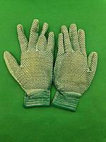 Хозяйственные перчатки с полиуретановым покрытием и ПВХ точкой (12 пар), фото 1