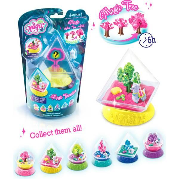 Canal Toys Выращивание кристаллов магический сад So Magic DIY Magic Terrarium Kit Crystal
