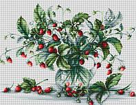 Набор для вышивки крестом Luca-S B2267 Букет земляники