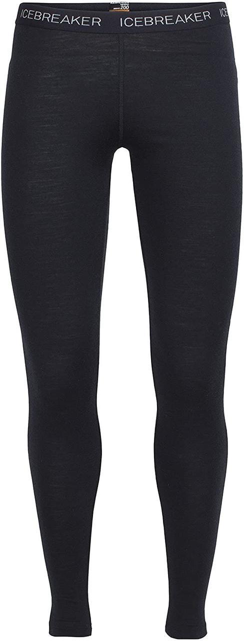 Термобрюки жіночі Icebreaker 200 Oasis Leggings Black L (100 521 001 L)