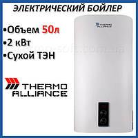 Бойлер 50 литров Thermo Alliance DT50V20G(PD)-D. Электрический накопительный водонагреватель с сухим ТЕНом