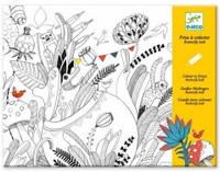 """Djeco Художественный комплект для рисования-разукрашка """"Бал бабочек"""""""