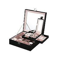 Шкатулка- сундук для украшений. Шкатулочка для драгоценностей с зеркалом .