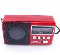 """Радиоприемник колонка """"WSTER"""" WS-239 red"""