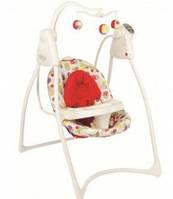 Graco Lovin Hug кресло качалка с подключением к электросети, цвет Garden friends