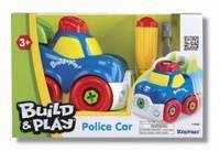 """Игровой набор Keenway - Полицейская машина """"Строй и играй"""""""