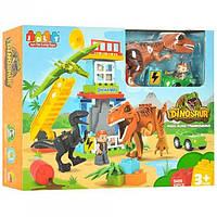 Конструктор 5409 Динозавры 43 детали, в коробке