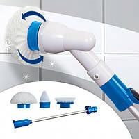 Беспроводная электрическая щетка для влажной уборки Spin Scrubber с насадками