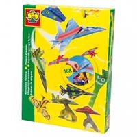 Ses Набор для творчества (оригами) - Самолеты (цветная бумага, подставки под модели)