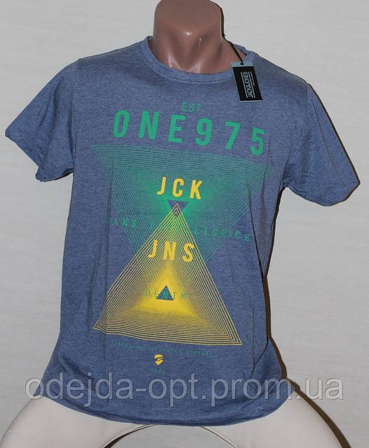 Мужская брендовая футболка Original JackJones №2