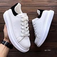 Чоловічі кросівки з еко шкіри Mac Vin White, фото 1