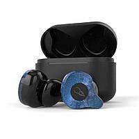 Беспроводные Bluetooth наушники Sabbat X12 Pro here with you с чехлом для зарядки 750 мАч (Синий)