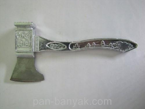 Молоток кухонный  с топориком длина 22 см алюминий (Кремль)