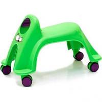 ToyMonster Детская каталка Whirlee, зеленый неон