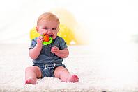 Прорізувач текстурний для зубів Морква Infantino (216216I), фото 3