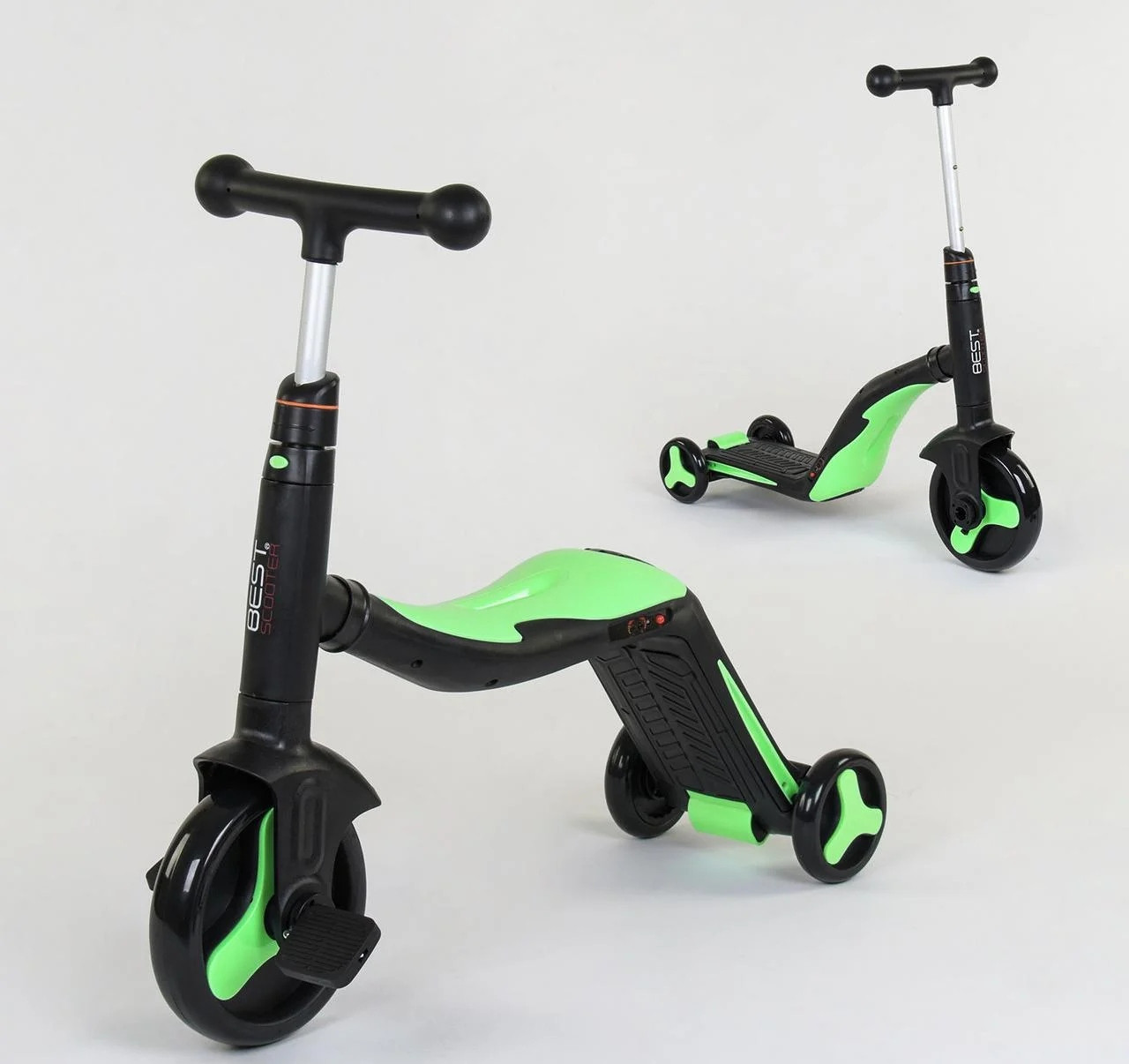 Самокат-велобег-велосипед, 3в1 JT 40405 Best Scooter