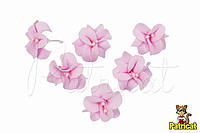 Цветы Жасмин розовый с тычинками из фоамирана 3 см 10 шт/уп