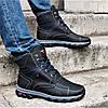 Ботинки ЗИМНИЕ Мужские Colambia Кроссовки на Меху Чёрные (размеры:40,41,42,43,44,45) Видео Обзор, фото 4