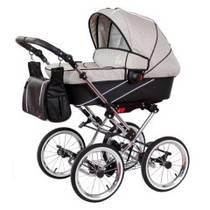 Zekiwa Tramper Детская коляска 2 в 1 Minikaro Grey-Schwarz