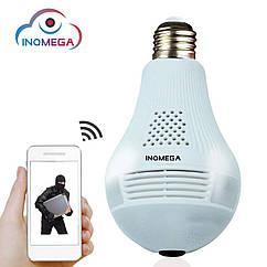 WiFi IP камера лампочка INQMEGA IL-369. 960P. iCSee